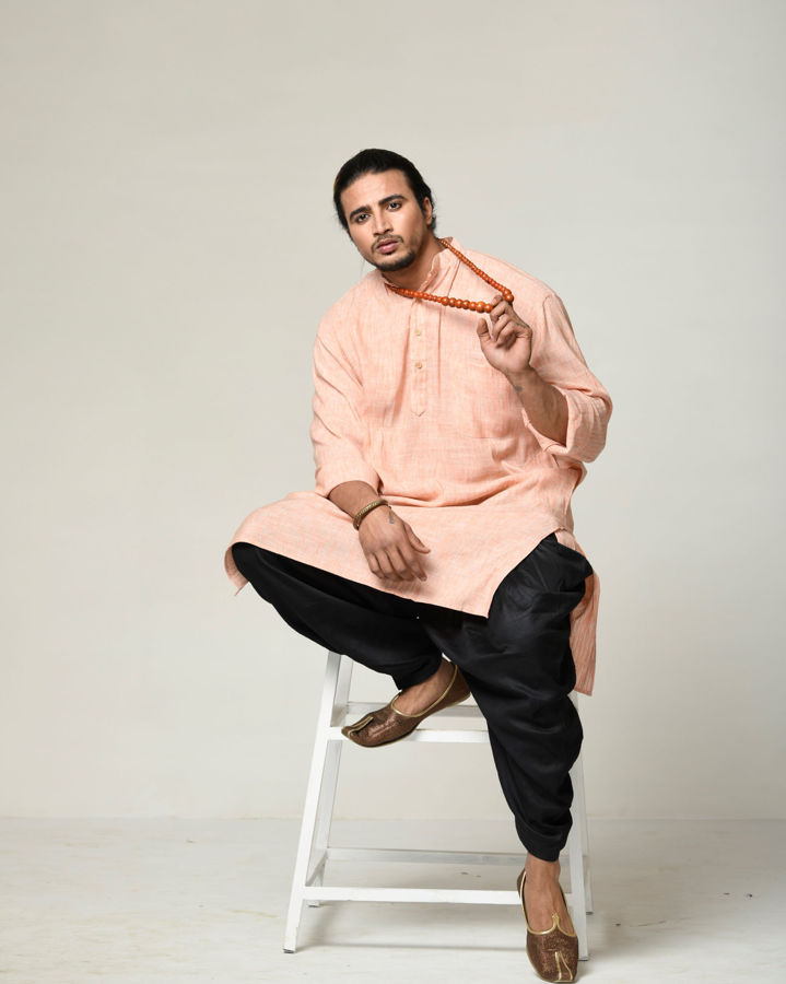 Picture of Mfab9 casual cotton kurta